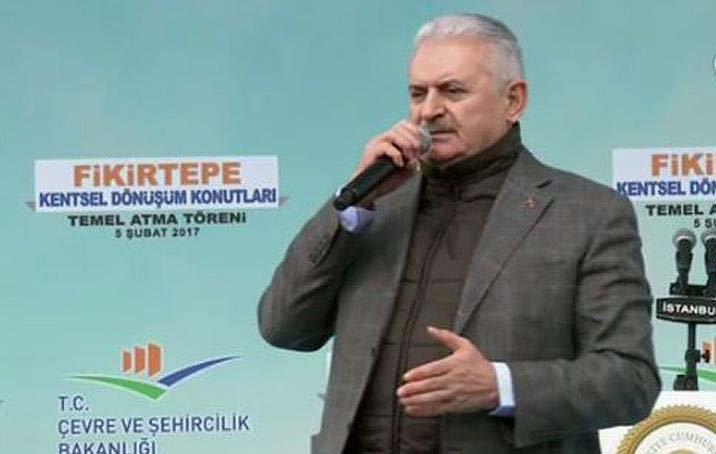 Binali Yıldırım başkanlığı savunamadı: FETÖ, PKK'Hayır' diyor onun için'Evet' diyoruz