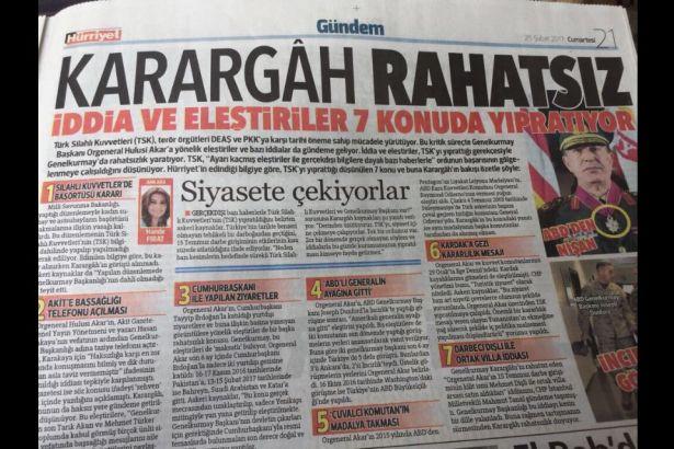Hande Fırat'ın haberine dair açıklama: Hürriyet'e iftirada sınır tanımazlık