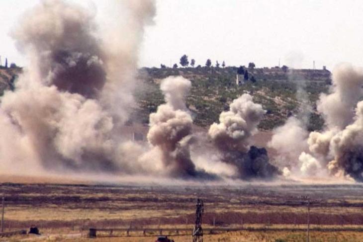El Bab'da patlama: 3 asker yaralandı