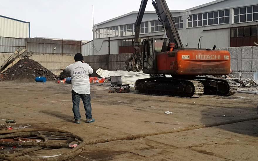 Konya'da iş cinayeti: İş makinesinin paletleri altında kalan işçi feci şekilde can verdi