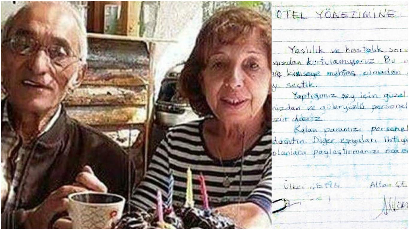 Çeşme'de intihar mektubu bırakan 50 yıllık çiftin cansız bedenleri sahilde bulundu