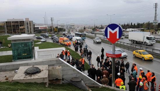 Kartal'da IŞİD alarmı: Metro çıkışında yakalandı
