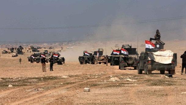 VİDEO | Musul Havalimanı IŞİD'den geri alındı: İşte operasyondan görüntüler...
