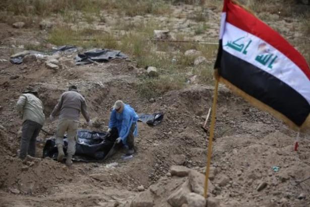 Musul'da toplu mezar bulundu: 4 bin ceset olduğu düşünülüyor