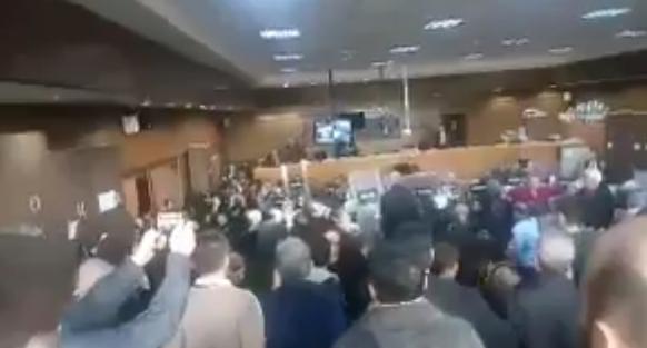 VİDEO | 10 Ekim Davası'nda katliam sanıklarından provokasyon