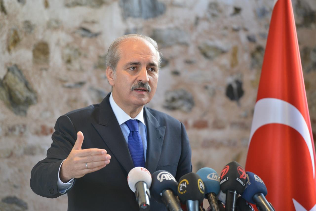 Numan Kurtulmuş AKP'nin sloganlarını açıkladı