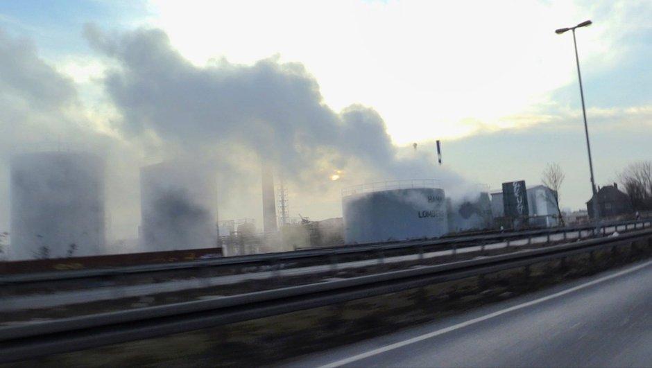 Almanya'da Binali Yıldırım'ın gideceği kentte zehirli gaz sızıntısı