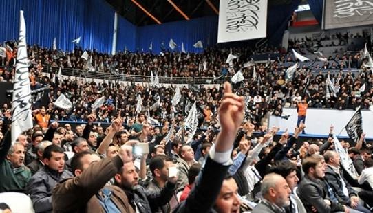 VİDEO | Cumhuriyet ve laikliği hedef alan şeriatçı örgütten İstanbul'da hilafet konferansı!
