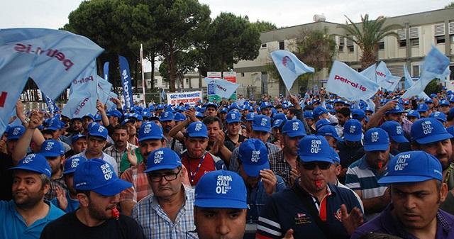 Petrol-İş'ten Varlık Fonu'na karşı genel grev çağrısı