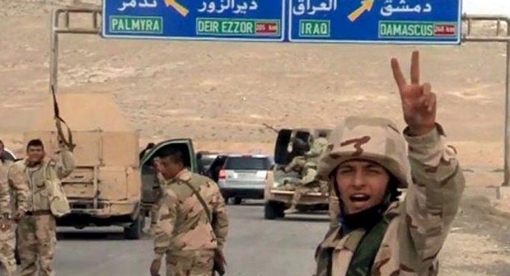 VİDEO | IŞİD'in kontrol ettiği kentte sona doğru: Suriye Ordusu Palmira'da!