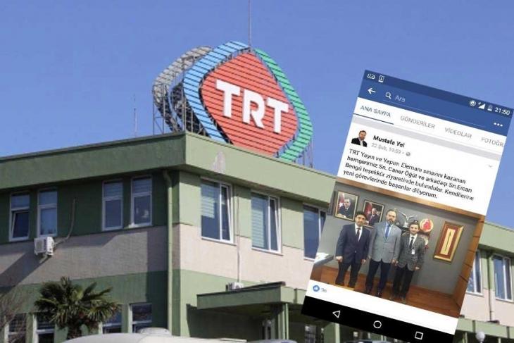 AKP'li vekil yakalandı: TRT'yi kazanan hemşehrisinden 'teşekkür' ziyareti!