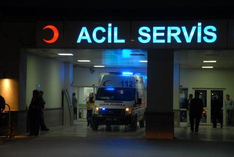 112 acil yardım istasyonlarına silahlı saldırı