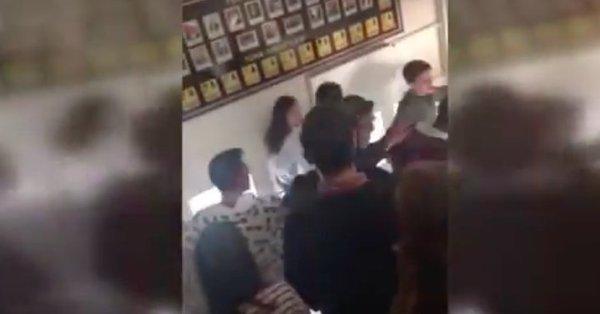 VİDEO | Bilal Erdoğan'ın etkinliğine götürülen öğrenciler, salonu İzmir Marşı'yla terk etti