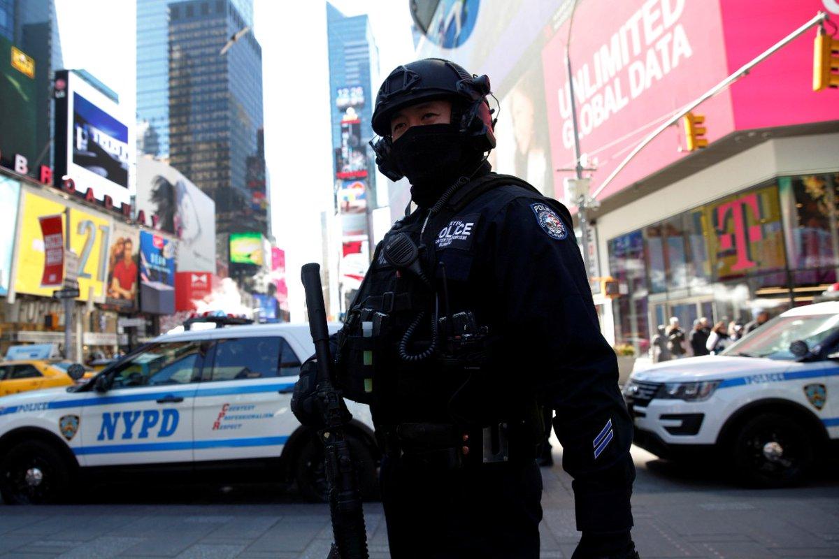 New York polisi alarmda