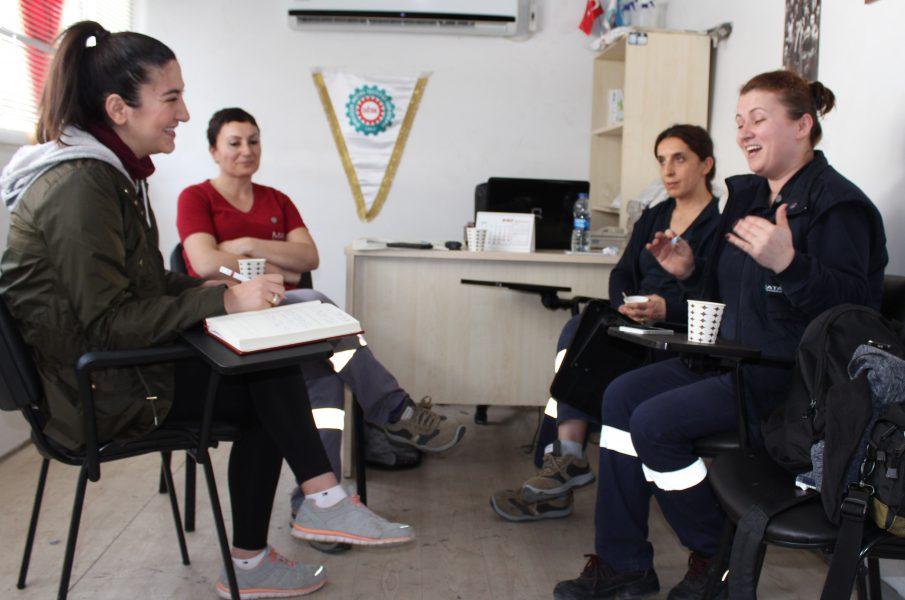 Metal işçisi kadınlar konuşuyor:'Evet'i isteyenler sermaye yanlılarıdır