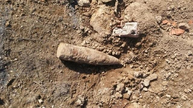 Ilgın'da Kurtuluş Savaşı'ndan kalma top mermisi patlatıldı
