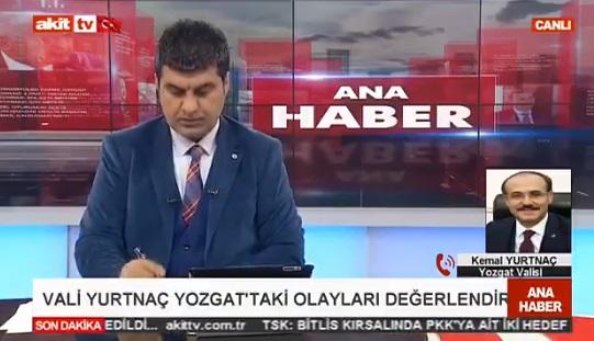 VİDEO | Yozgat Valisi Akit'in TV'sine konuştu, Sinan Oğan'a saldırıya