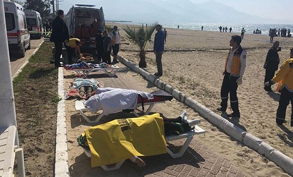 Kuşadası açıklarında facia: Çok sayıda mülteci hayatını kaybetti