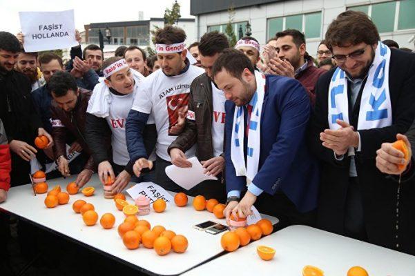 VİDEO | AKP'lilerin eylemi