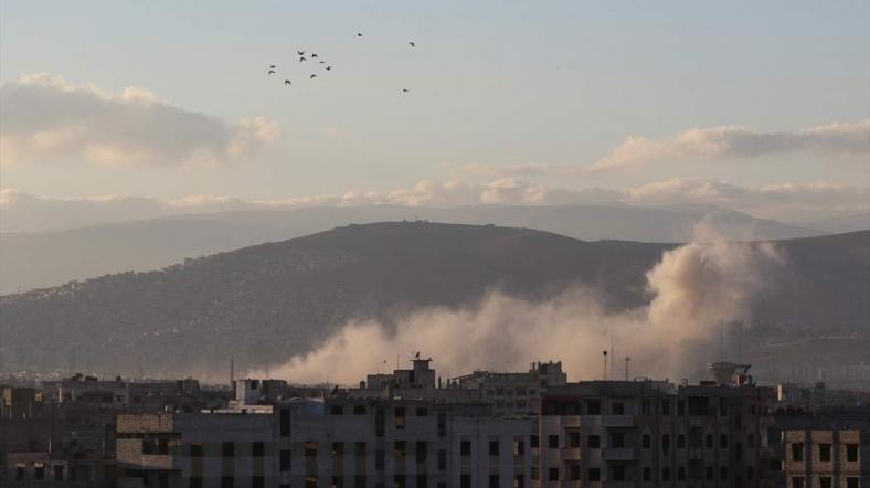 Suriye Ordusu Şam'a saldıran cihatçı grupları püskürttü
