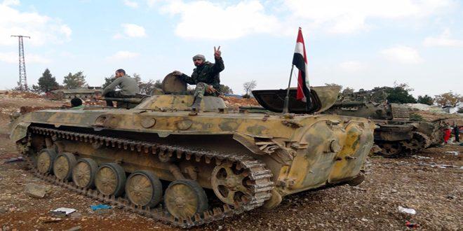 Suriye Ordusu, Hama'da ilerliyor