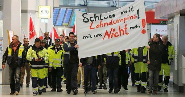 Berlin'de büyük grev: Yüzlerce uçuş iptal edildi