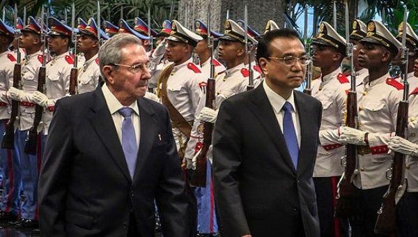 Küba ve Çin aralarındaki askeri işbirliklerini artırıyor