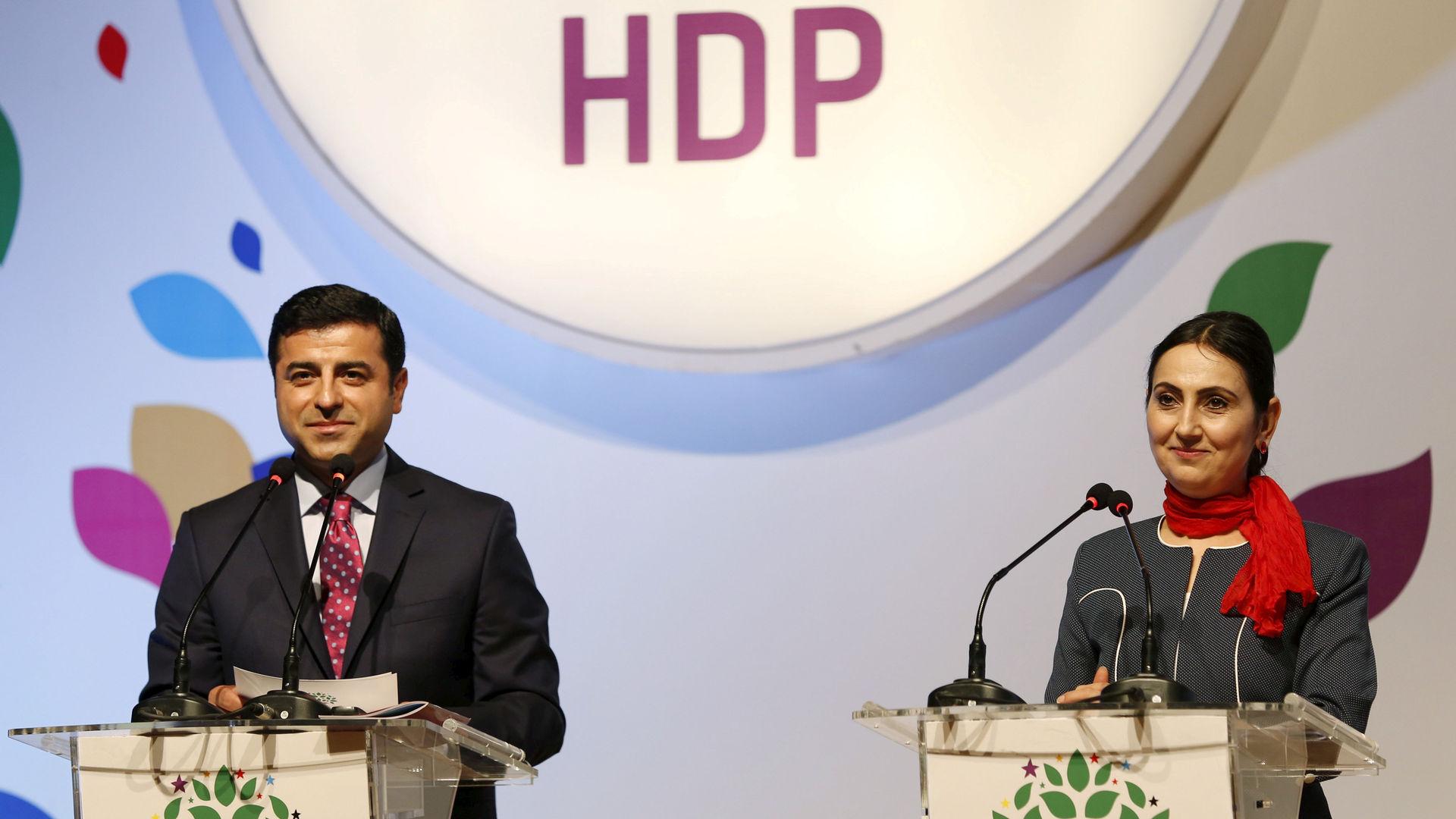 Demirtaş ve Yüksekdağ'dan ortak Newroz mesajı