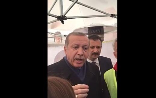 VİDEO | Erdoğan 'Hayır' çadırında olay çıkardı: Genel Başkanınız da yalancı, siz de yalancısınız!