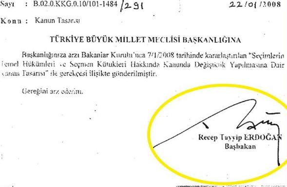 Yurtdışında seçim propagandası yasağının altında Erdoğan'ın imzası var