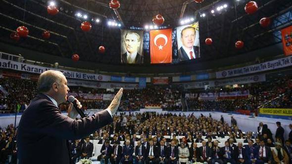 Tayyip Erdoğan'a esnaf buluşmasında protesto
