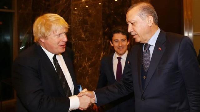 Erdoğan, İngiltere Dışişleri Bakanı ile görüştü