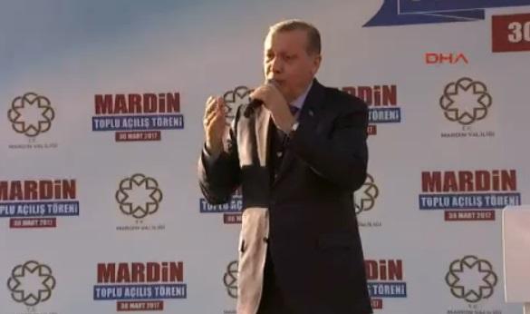 Erdoğan: Üçüncü köprünün adını'Tayyip Erdoğan' koymadım, ne kadar mütevaziyim