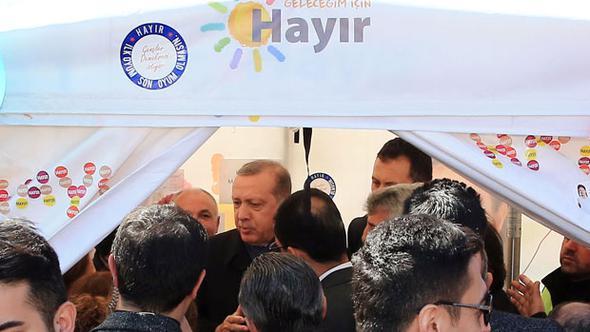 VİDEO | Erdoğan'dan 'Hayır' çadırındaki tartışmasıyla ilgili açıklama