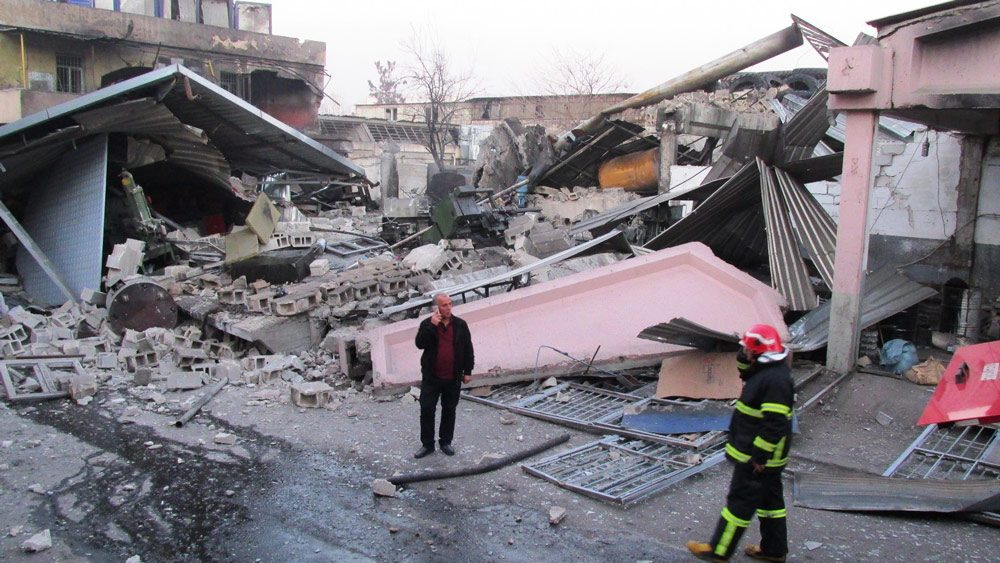 Gaziantep Sanayi Sitesi'nde şiddetli patlama
