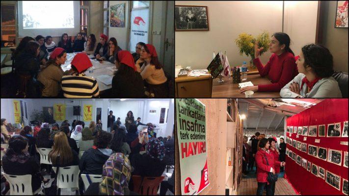 İKD üye ve dostları 8 Mart'ta Kartal, Şişli, Edirne ve Antalya'da buluştu
