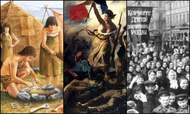 KADIN MÜCADELELERİ TARİHİ (1. bölüm): Tarih öncesi toplumlardan 8 Mart'a