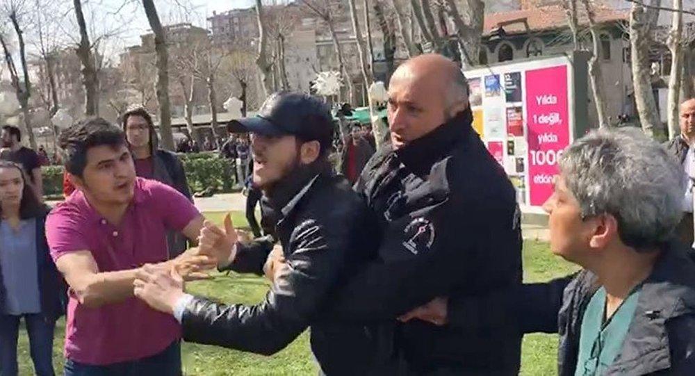 Bilgi Üniversitesi'nde 8 Mart etkinliğine saldıran gericiler serbest bırakıldı!