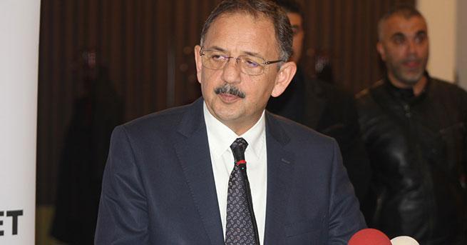 Bakan Özhaseki: Bakanlık olarak müteahhitliğe başlayacağız