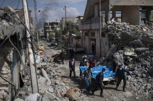 ABD kabul etti: Musul'da sivillerin öldüğü binaları koalisyon uçakları vurdu