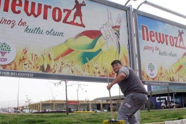 Van'da Newroz afişlerine toplatma kararı