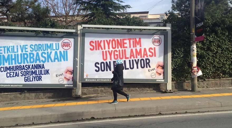 AKP'nin kampanya afişi sosyal medyada alay konusu oldu
