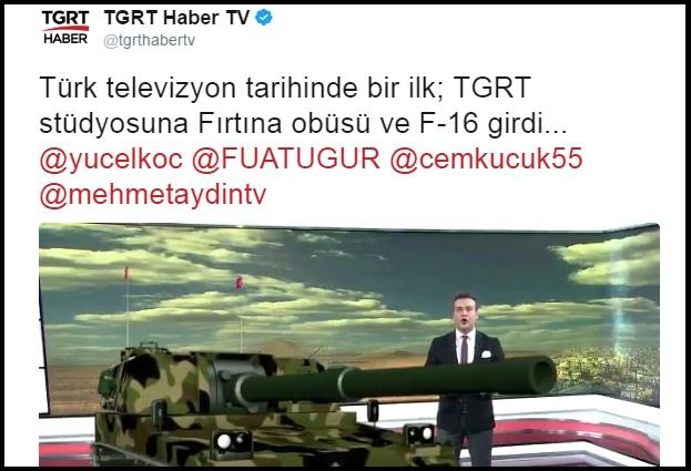 VİDEO | Türkiye'de televizyon haberciliğinin çivisinin çıktığı anlar TGRT'de yaşandı!