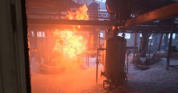 Fabrikada patlama: Çok sayıda işçi hastaneye kaldırıldı