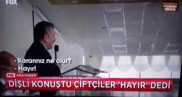 VİDEO | AKP'li Şaban Dişli'nin çiftçilerle zor anları: