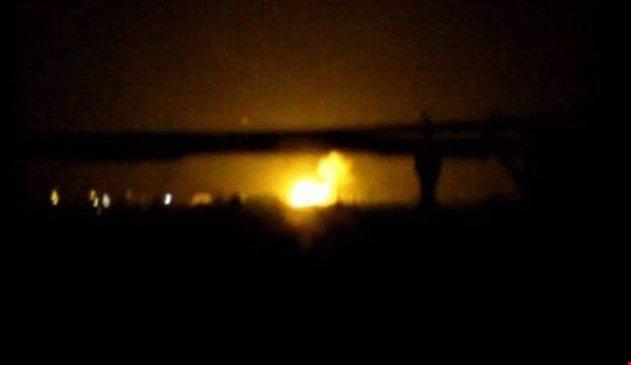 Şam Uluslararası Havaalanı'nda patlamalar!
