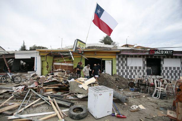 Şili'de 7.1 büyüklüğünde deprem!