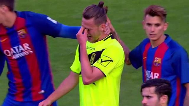 Barcelona'ya 12-0 yenilen takımın teknik direktörü gözaltında