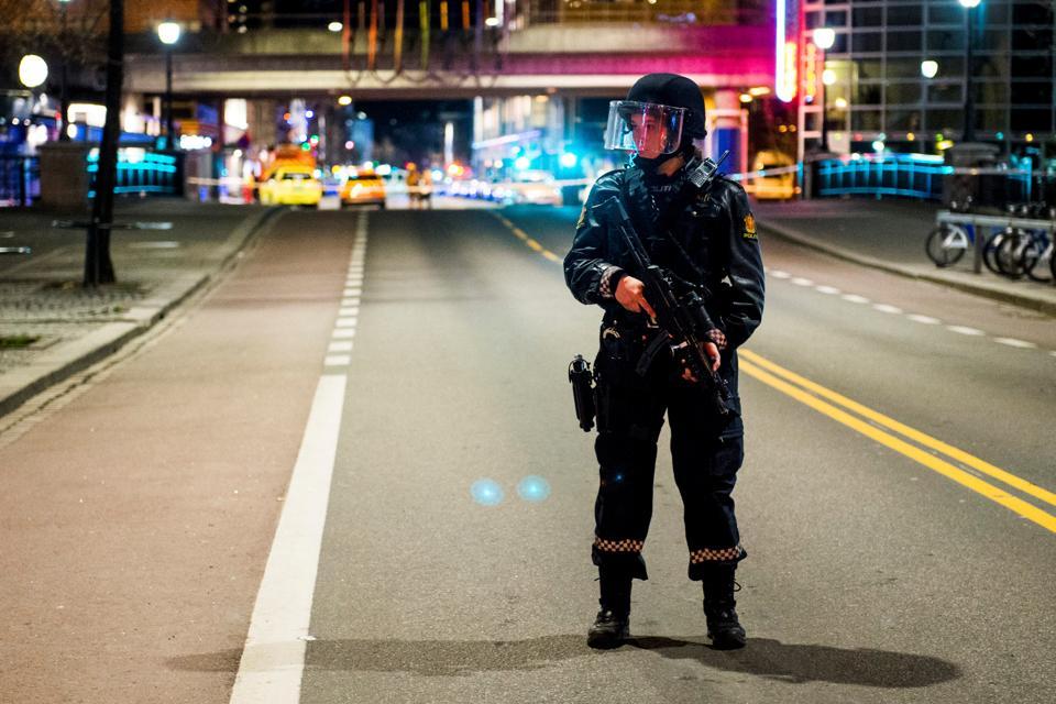 Oslo'da patlayıcı bulundu, bir kişi gözaltına alındı
