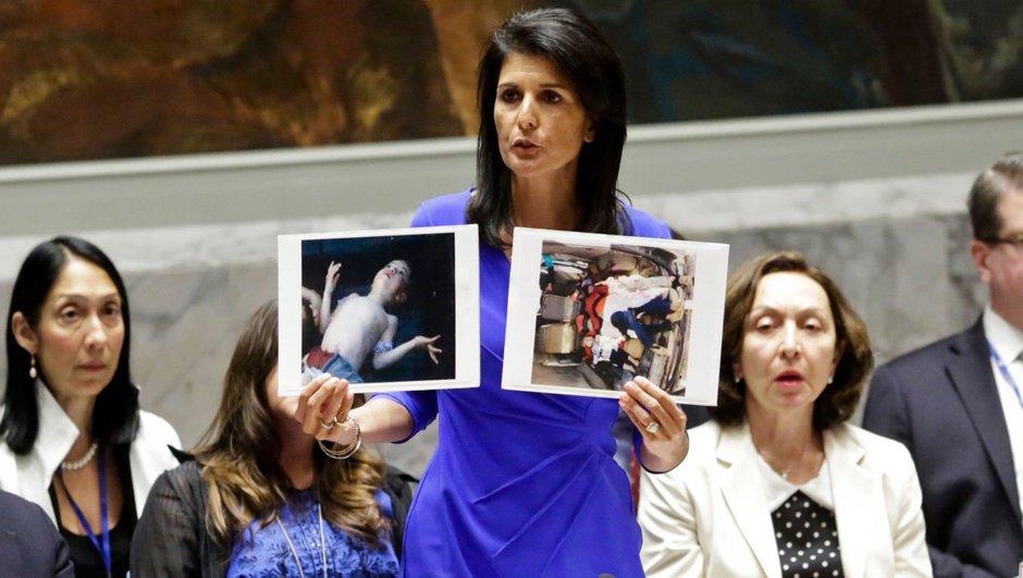 ABD Suriye'yi tehdit etti: BM müdahale etmezse ABD edebilir